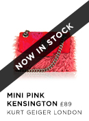 Mini Pink Kensington - Kurt Geiger London - Available 15th Aug