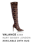 Valance - Kurt Geiger London - Available 30th July