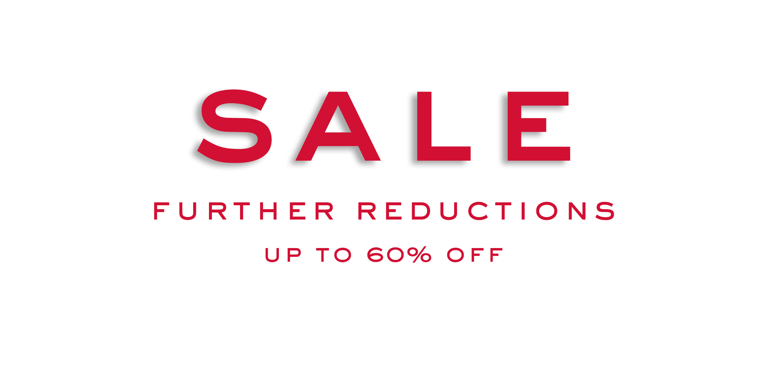 Sale: Up to 60% Off