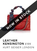 Leather Kensington - Kurt Geiger London - Available 20th Nov