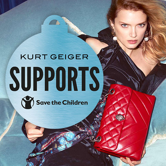 Kurt Geiger Supports Save The Children