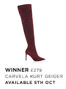 Winner OTK Boots - Kurt Geiger London - Available 5th Oct