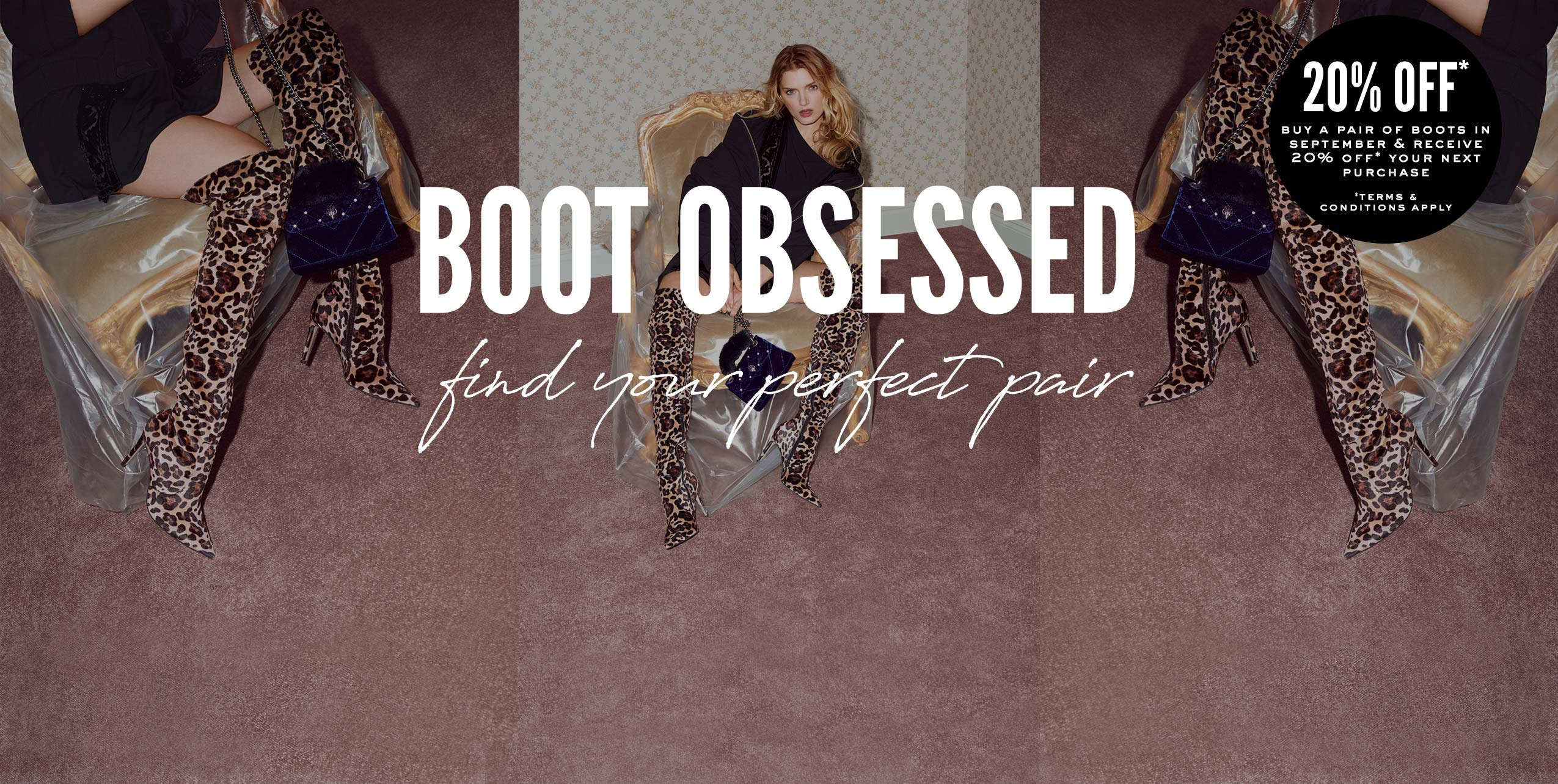 boot obsessed: find your perfect pair