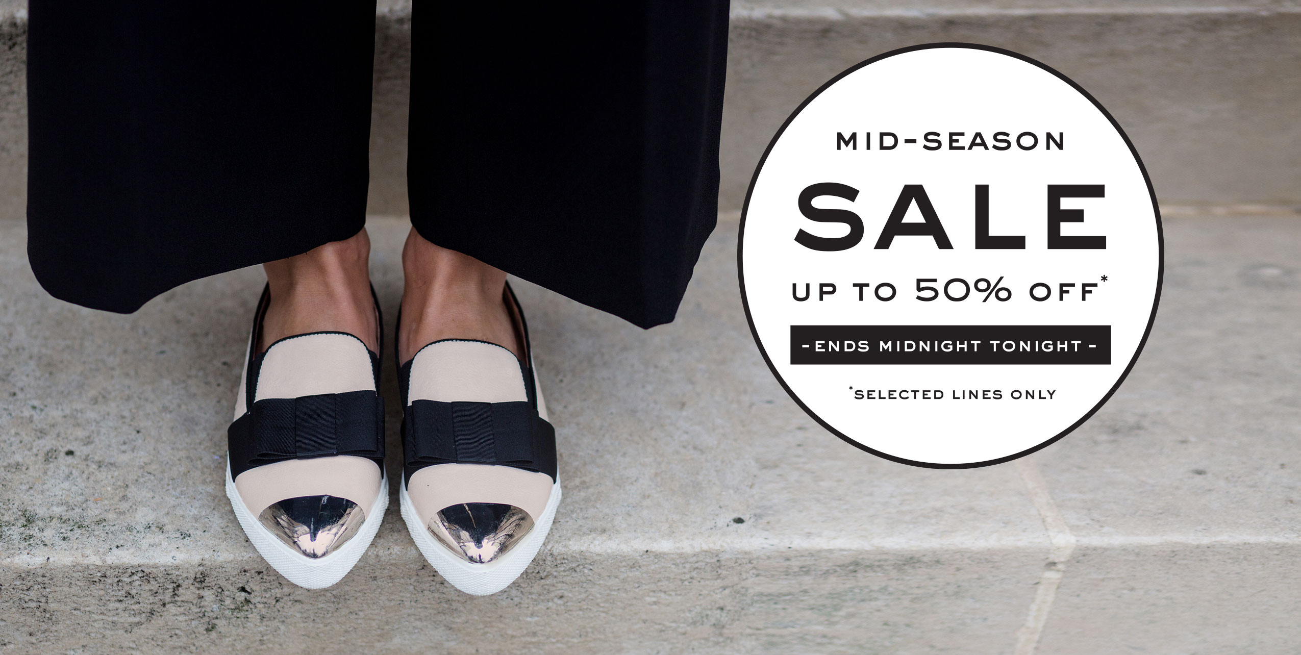 Mid-Season Sale - Up to 50% off - Ends Midnight Tonight