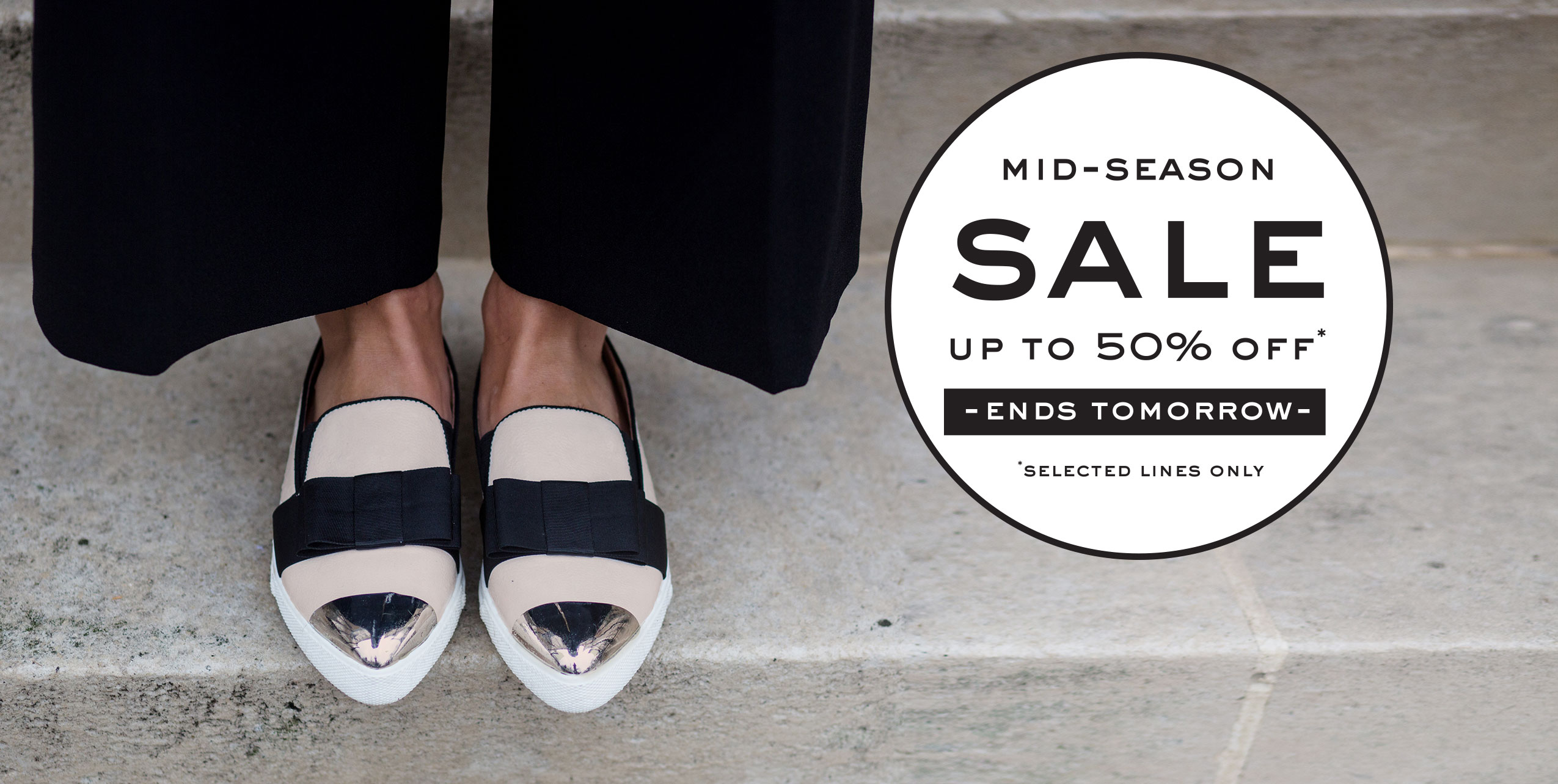 Mid-Season Sale - Up to 50% off - Ends Tomorrow