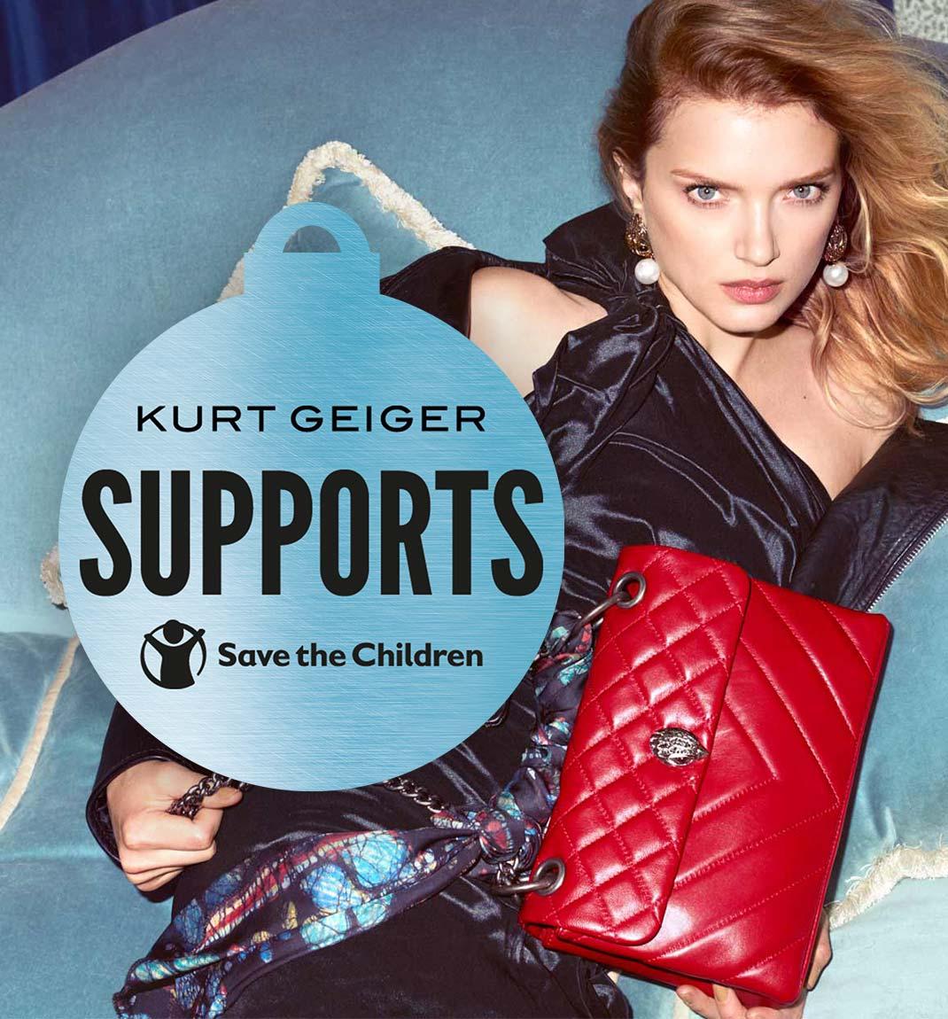 Kurt Geiger Supports Save The Children
