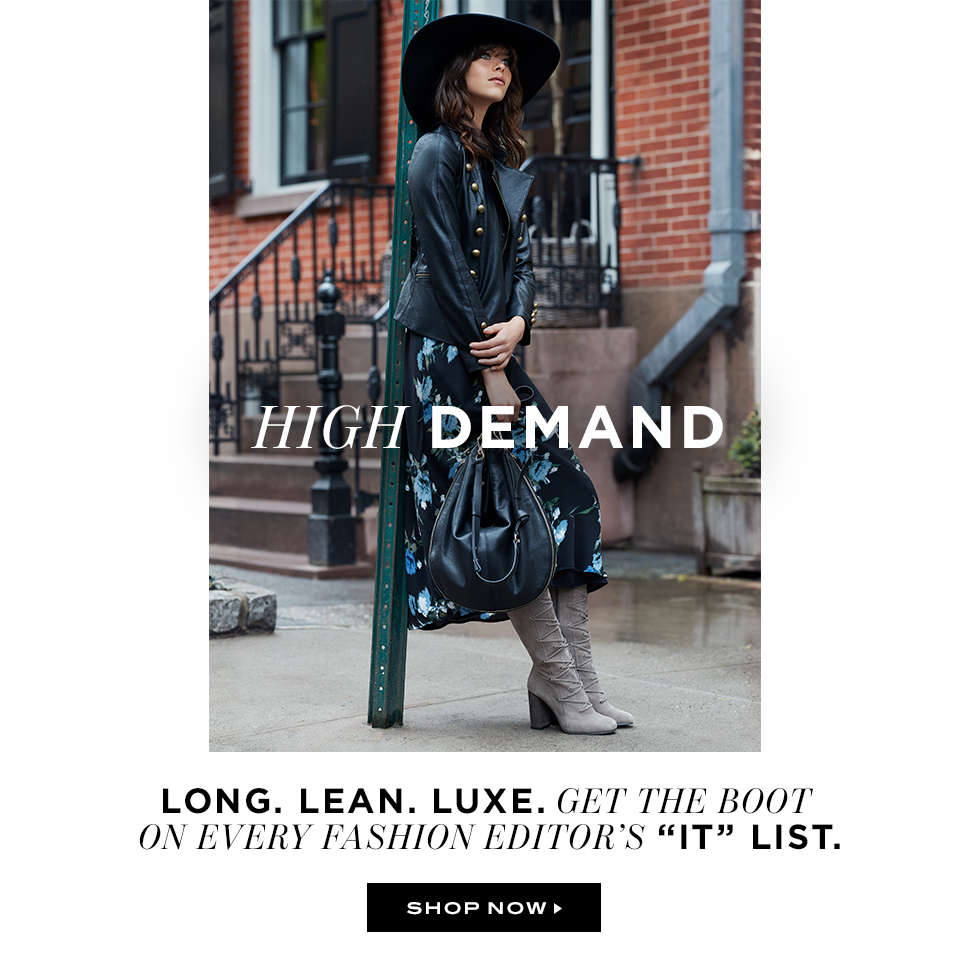 High Demand: Shop Now