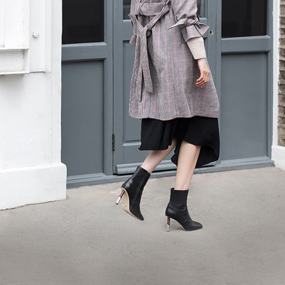 3 Ways To Wear: Black Ankle Boot
