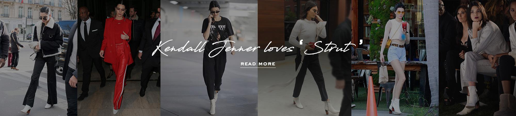 Kendall Jenner Loves Strut