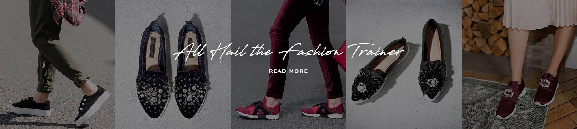 all hail the fashion trainer