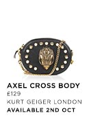 Alxel  - Kurt Geiger London - Available 3rd Oct