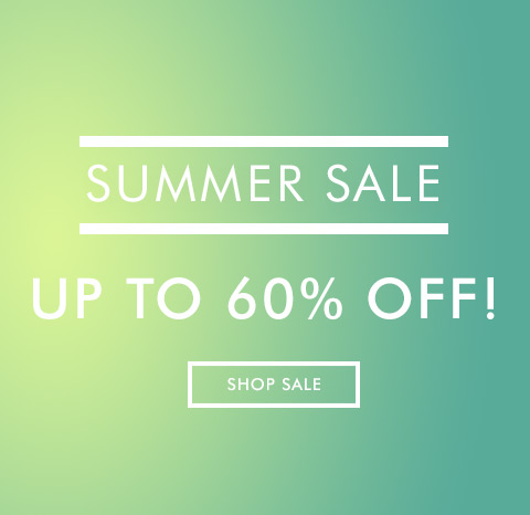SUMMER SALE: UP TO 50% OFF!