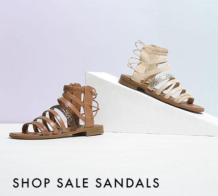 SHOP SALE SANDALS