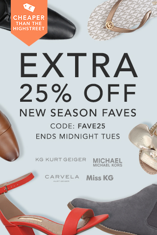 Extra 25% off new-in