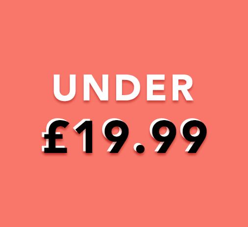 Under £19.99