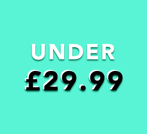 Under £29.99