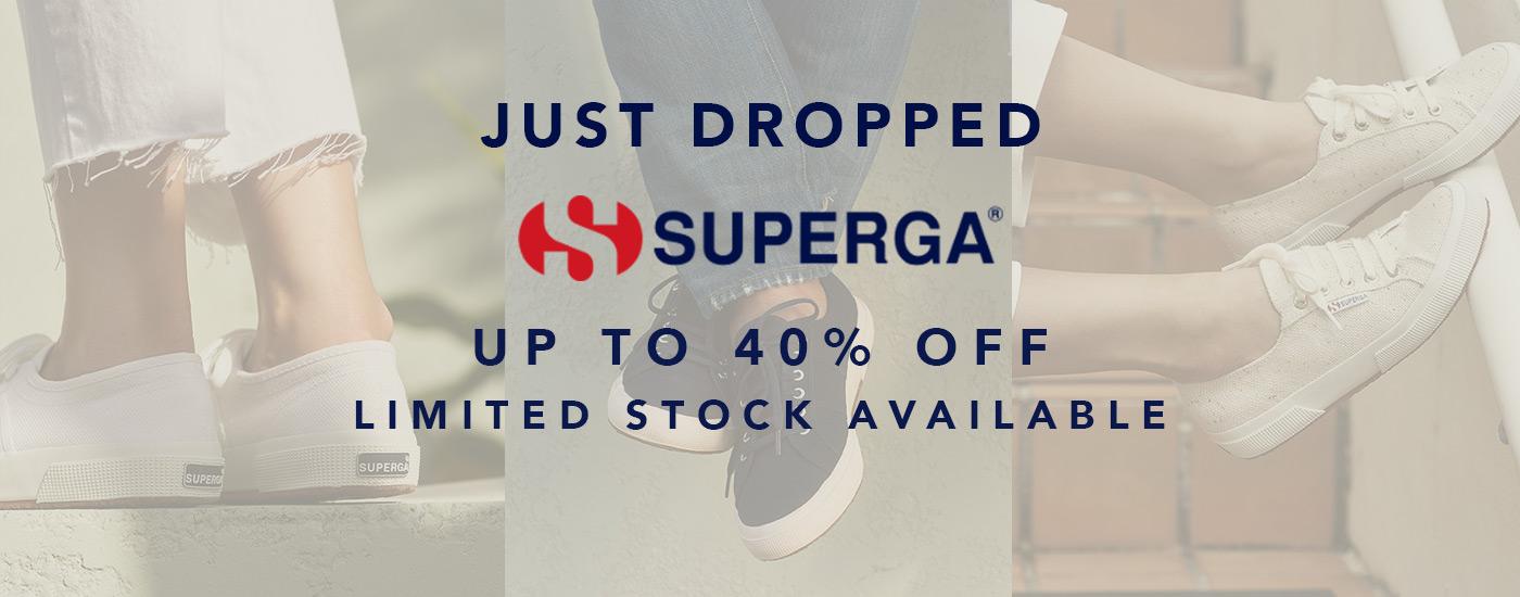 SHOP SUPERGA