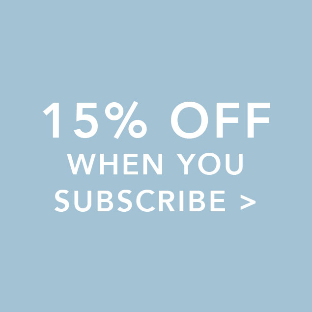 15% off when you subscribe