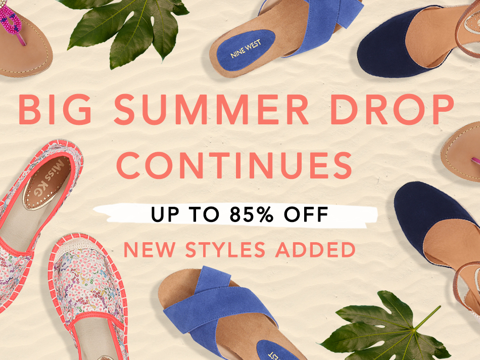 UP TO 85% OFF NEW STYLES ADDED