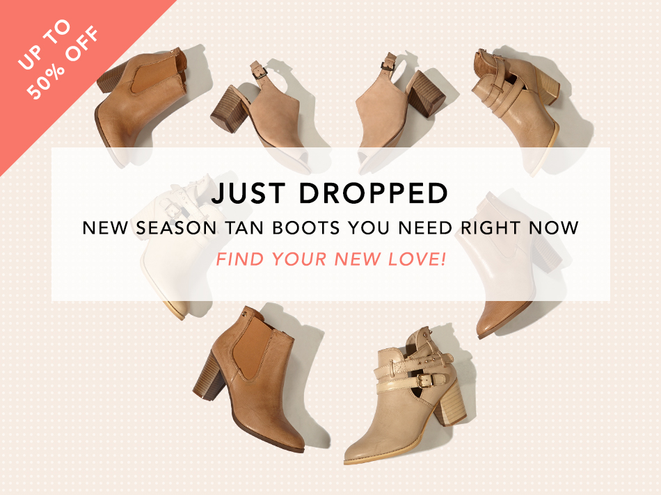 New season tan boots you need right now