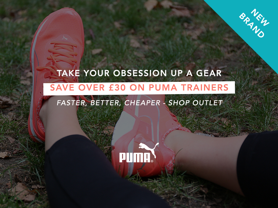 Save over £30 on puma trainers