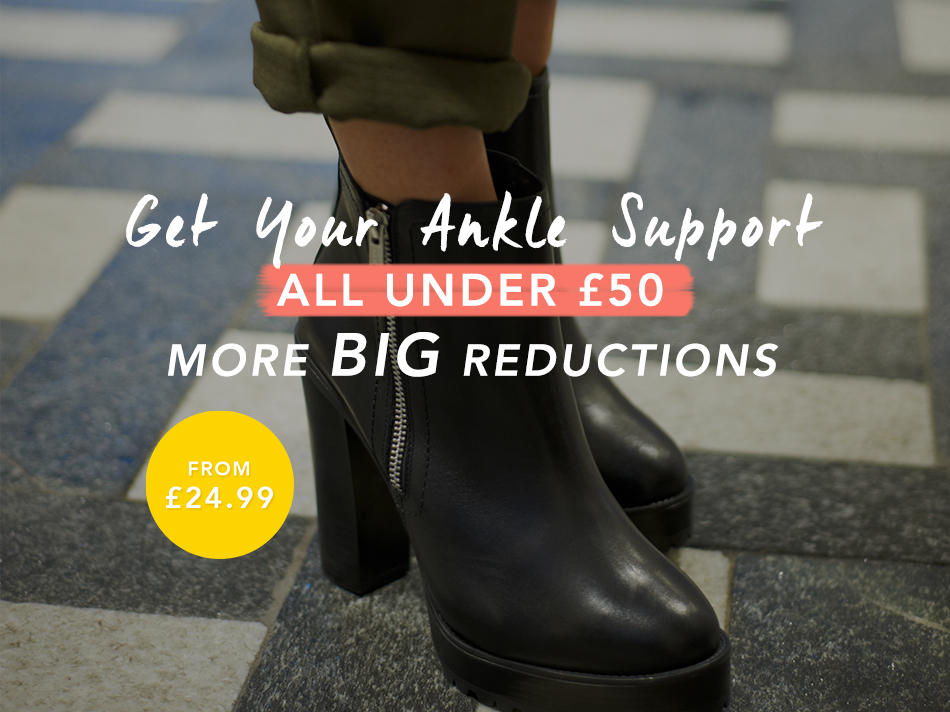Get your ankle support. All under £50