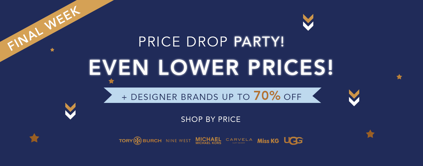 PRICE DROP PARTY