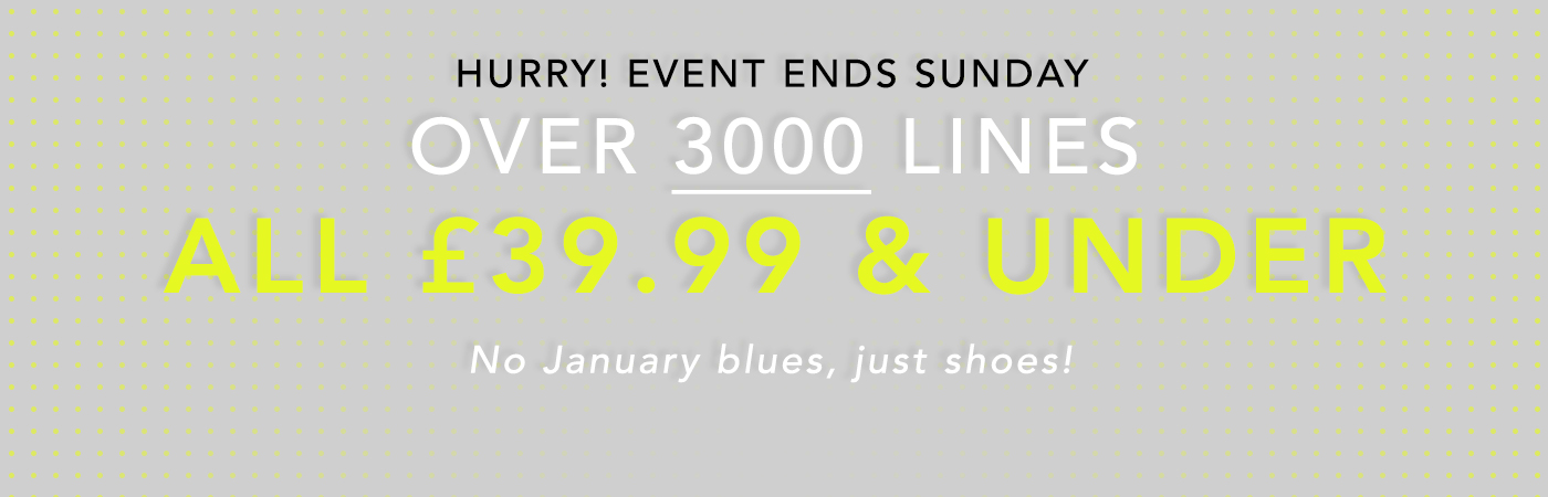 EVERYTHING £39.99 AND UNDER OVER 3000 LINES