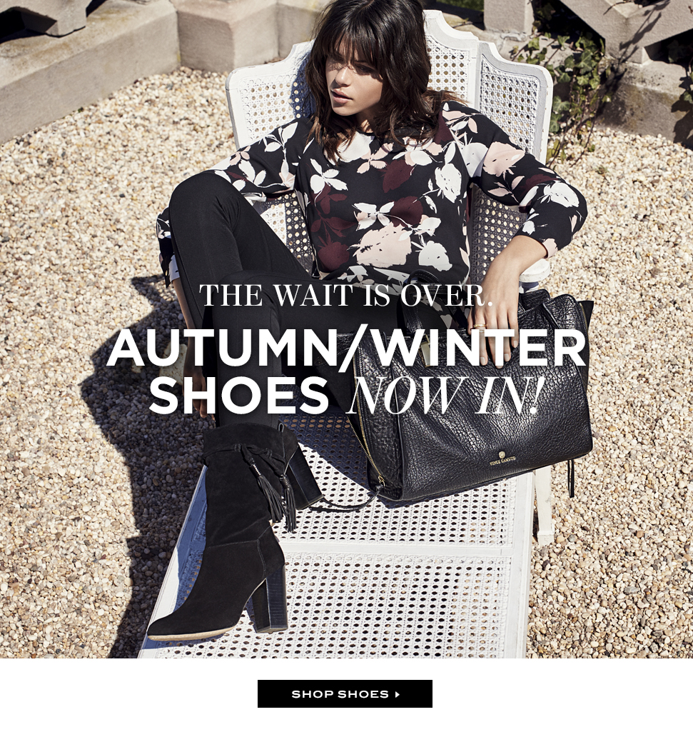 Autumn / winter shoes now in